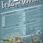 Dissabte 7 de maig: ja tenim aquí la 2a Festa pel Territori!