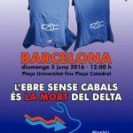Per l'Ebre: 5 de juny tots a Barcelona!