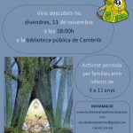 Divendres 11 a Cambrils: La motxilla del naturalista