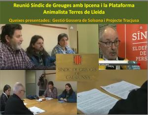 Ipcena porta al Síndic la Gestió de la Gossera de Solsona i el projecte per tractar residus a la planta de purins de Tracjusa a Juneda