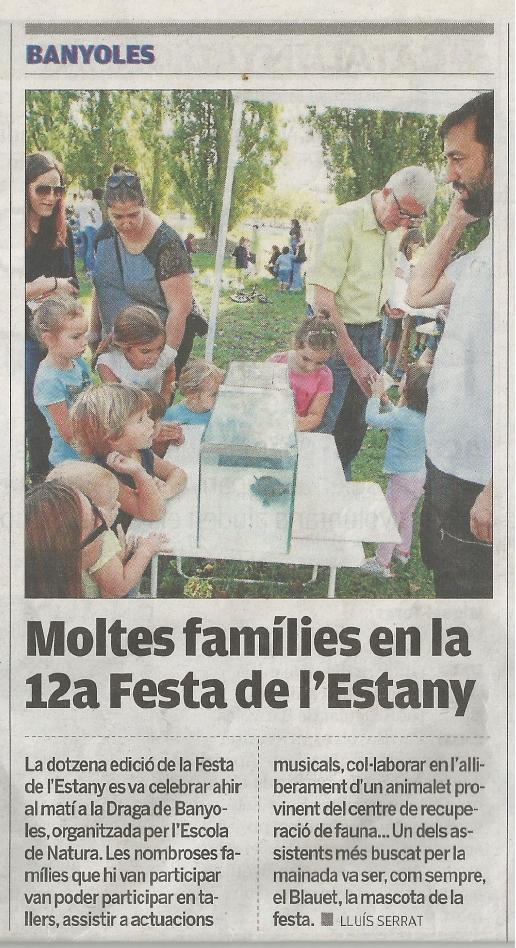 Éxit de la 12è Dia de l'Estany 2016