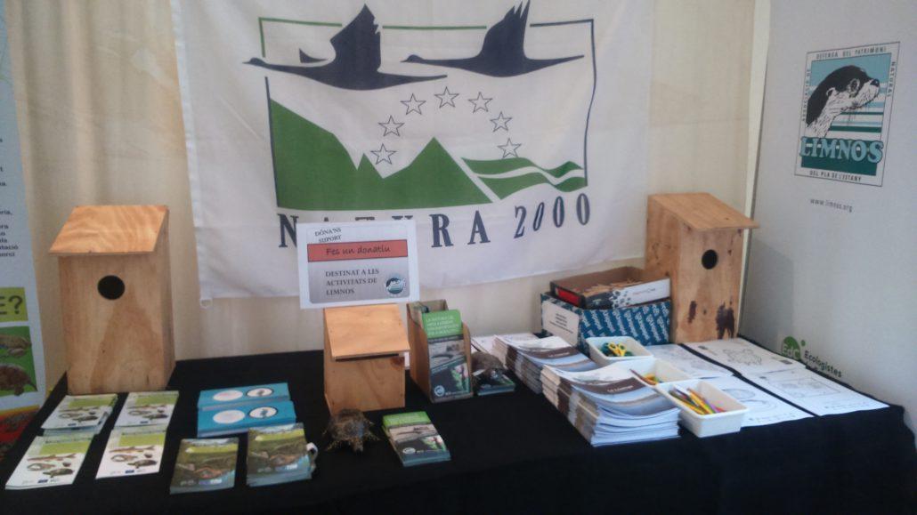 Limnos col·labora en la sensibilització ambiental relacionada amb peixos, nàiades i cargolines de ribera del LIFE Potamo Fauna a la Fira de Sant Martirià de Banyoles