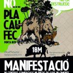 DISSABTE DIA 18 MANIFESTACIÓ PER DEFENSAR COLLSEROLA DE L'ESPECULACIÓ