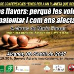 dissabte 8 d'abril xerrada llavors a Alcanar