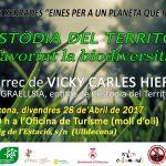 Divendres 28 d'abril Xerrada Custòdia a Ulldecona