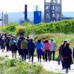 Més de 150 persones participen en la Caminada contra el projecte de la incineradora a Juneda #incineracio