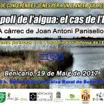 Xerrada a Benicarló: L'espoli de l'aigua: el cas de l'Ebre