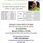 Inscripció oberta al campus de l'Escola de Naturalistes del GEPEC Lo Caro