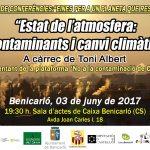 Divendres 3 de juny xerrada a Benicarló
