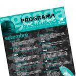 Programa d'activitats setembre-desembre 2017