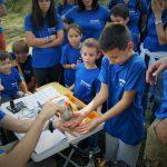 Activitat de voluntariat ambiental a l'Estany de Banyoles