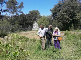 La promoció de la transició agroecológica al parc natural de Collserola