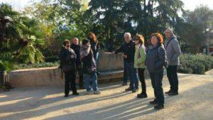 Sortida botànica als Jardins del Laberint d'Horta.