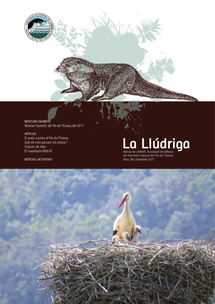Publicació de la revista La Llúdriga Núm 94. Des 2017