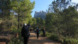 Passejada geològica per Montserrat