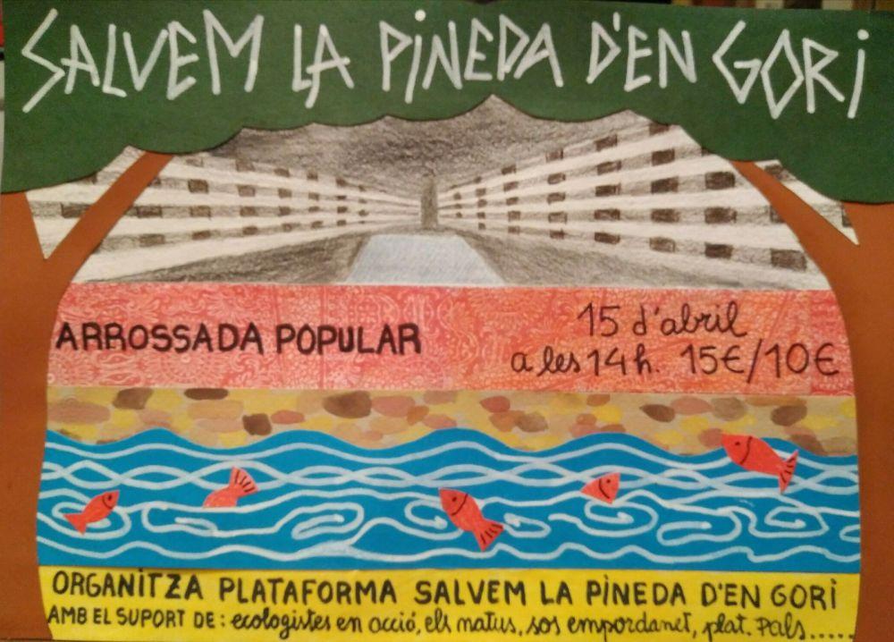 Salvem la Pineda d'en Gori i les barraques de s'Alguer, de Palamós