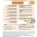 Apunta't al Curs d'identificació de flora autòctona. Setembre 2018