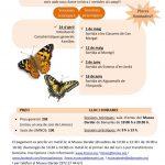 Nou Curs d'identificació de papallones diürnes 2018