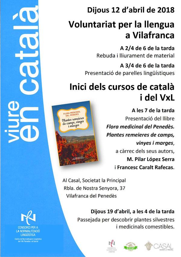 Presentació del llibre Flora medicinal del Penedès