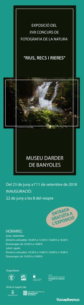 """Inauguració Exposició XVII Concurs de Fotografia de la Natura """"Rius, recs i rieres"""""""
