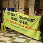 Acció per restituir el DMA de la Generalitat