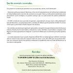"""Els 12 temes de reflexió del llibre """"X un bon clima"""". El llibre verd de BCN."""