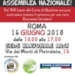 Iniciativa dels moviments socials italians per aturar la incineració arreu d'Europa