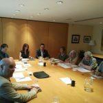 Reunió amb el DTS per valorar el projecte de buidatge de l'abocador de Vacamorta
