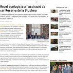 Recel ecologista a l'aspiració de ser Reserva de la Biosfera – Diari de Girona