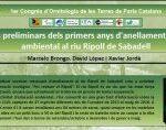 L'ADENC presentarà un pòster al 1er Congrés d'Ornitologia de les Terres de Parla Catalana!