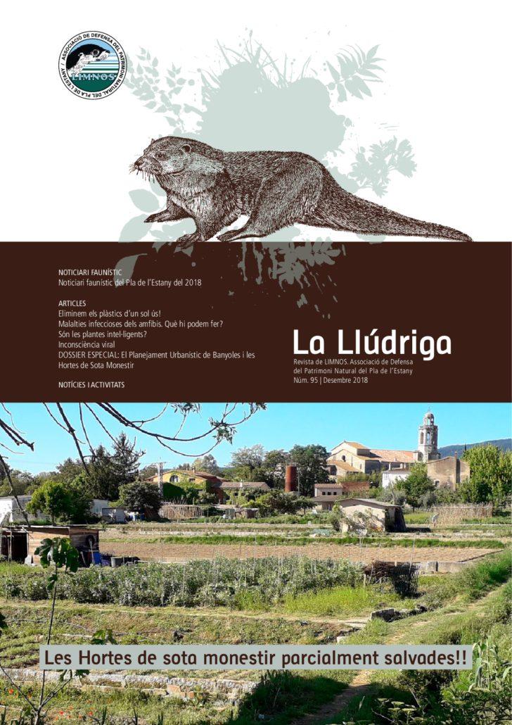 Publicació de la revista La Llúdriga Núm 95. Des 2018