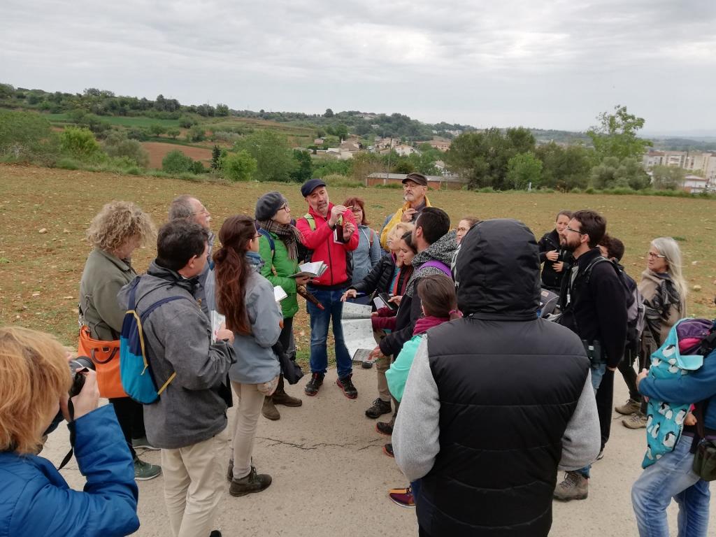 Gran interès per descobrir les flors de camp i de marge al Puig de Sant Martirià a l'Estany de Banyoles
