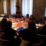 Primera reunió a Catalunya  entre el President de la Generalitat i representants d'entitats ecologistes i de defensa del territori