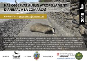 Punts negres per la biodiversitat a la comarca.