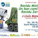 Debat a Badalona sobre la situació d'emergència per excés de residus