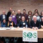 Roda de premsa SOS-Penedès 17-2-2020